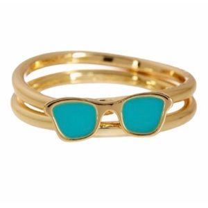 new Ariella ㋛ 14K GP Sunglasses Stack Ring Set ㋛